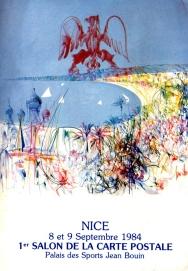 Niza, 1984: 1er. Salón de la Tarjeta Postal.