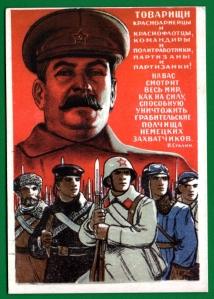 """El """"salvador"""" de la patria: Josif Stalin."""