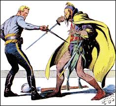 Alex Raymond (1909-1956). Flash Gordon contra Ming.
